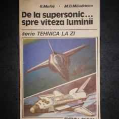 G. MALOS - DE LA SUPERSONIC ... SPRE VITEZA LUMINII