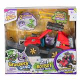 Set de joaca vehicul de asalt 2 in 1 Rotbot ATV Grossery Gang, S5