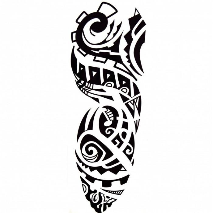 Tatuaj temporar craniu-timp, TB-022