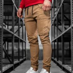 Pantaloni training cargo bărbați camel Bolf 1005