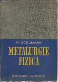 Cumpara ieftin Metalurgie fizica - H. Schumann / ed. Tehnica 1962