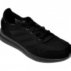 Pantofi sport ADIDAS negri, Archivo, din material textil