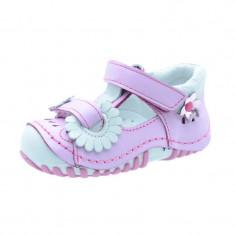 Sandale ortopedice din piele pentru fetite NN SO-03, Multicolor