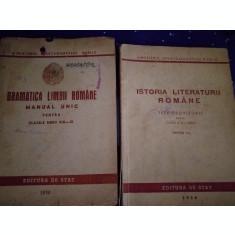 Manuale vechi limba romana