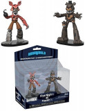 Cumpara ieftin Set 2 figurine Hero World: Nightmare Freddy & Nightmare Foxy Five Nights at Freddy`s FNAF