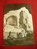 Ilustrata Targu Neamt - Cetatea Neamtului - Ruinele, Necirculata, Printata