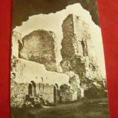 Ilustrata Targu Neamt - Cetatea Neamtului - Ruinele