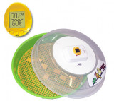 Incubator de oua cu dispozitiv de intoarcere, temperatura si umiditate