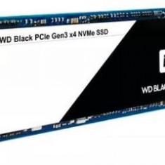 SSD Western Digital Black, 256Gb, M.2 2280, PCI Express NVMe
