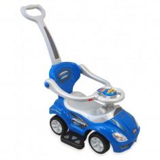 Masinuta de impins copii 3 in 1 Baby Mix URZ382 albastra
