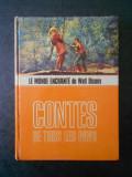 LE MONDE ENCHANTE DE WALT DISNEY. CONTES DE TOUS LES PAYS (1965, cartonata)