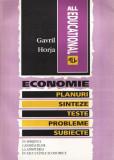 Economie. Planuri, sinteze, teste, probleme, subiecte