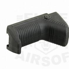 Maner ergonomic scurt - negru [ACM]