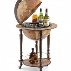 Glob pamantesc pe podea tip bar cu suport pentru bauturi, Da Vinci, 40 cm, Zoffoli