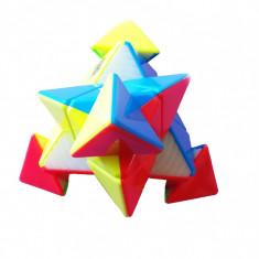 Cub Rubik 3x3x3, Pyraminx YuMo kungfu JIN ZI TA, Professional stickerless, 66CUB