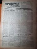 sportul popular 15 decembrie 1953-flacara ploiesti,schiorii din busteni