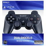 CONTROLLER JOYSTICK MANETA SONY PS3 WIRELESS,SIGILAT IN CUTIE,ACUMULATORI,USB.