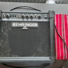 Amplificator Chitara electrica,   BEHRINGER GM108 V-Tone