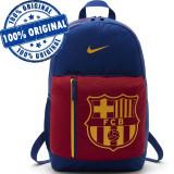 Rucsac Nike FC Barcelona - rucsac original - ghiozdan scoala - antrenament, Albastru, Marime universala