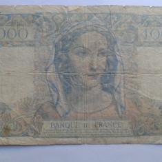 Franta 1000  francs 1945
