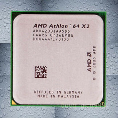 Procesor AMD Athlon 64 X2-Dual Core 4200+ 2.2GHz Windsor Socket AM2 89W Box L247