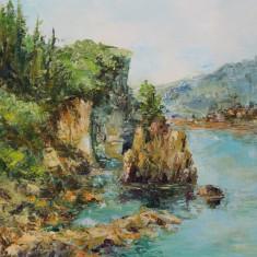 "Pictură ""Peisaj Grecia"""