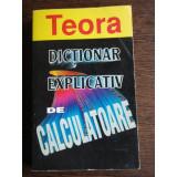 DICTIONAR EXPLICATIV DE CALCULATOARE - BRYAN PFAFFENBERG