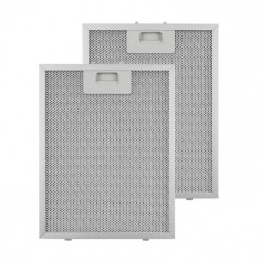 Klarstein KLARSTEIN, filtru de grăsime, filtru de schimb, aluminiu, 24,4 x 31,3 cm, 2 bucăți, accesorii