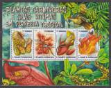 DB Flora Plante Carnivore si Victimele lor Sao Tome & Principe  MS