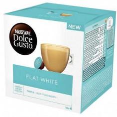 Capsule cafea Nescafé Dolce Gusto, Flat White, 2 x 8 Capsule, 167.2 g