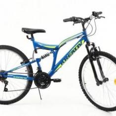 Bicicleta MTB Kreativ 2641, Cadru 18inch (Albastru)