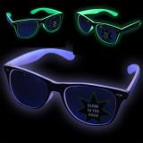 Ochelari neon, glow in the dark, lumineaza intens, accesoriu petrecere, ProCart