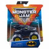 Masinuta Monster Jam, Scara 1:64, Batman, Negru