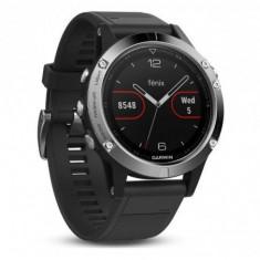 Gps watch garmin fenix 5 black/silver 240 x 240 pixels