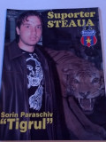 "Revista fotbal - ""Suporter STEAUA"" (Nr.7/2005)-poster Sorin Paraschiv"