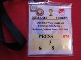 Acreditare meci fotbal ROMANIA - TURCIA (10.09.2013)