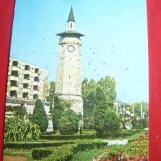 Ilustrata Giurgiu - Foisorul cu Ceas circulat 1974