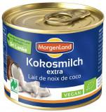Lapte de cocos BIO extra, 200 ml MORGENLAND