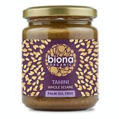 Pasta din Susan Integral Tahini Bio 250gr Biona Cod: 5032722305946