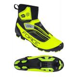 Pantofi iarna Force Ice MTB fluo 42
