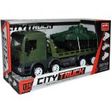 Camion militar + tanc