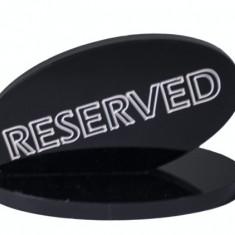 Suport acrilic rezevat pentru restaurant negru MN0136581 Raki