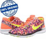 Pantofi sport Nike Free 5.0 pentru femei - adidasi originali - alergare, 36, 37.5, Textil