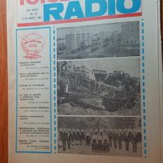 revista tele-radio saptamana 8-14 august 1982