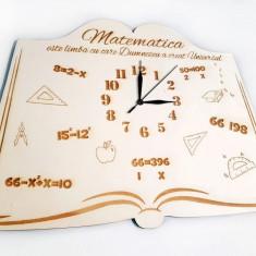 Ceas pentru Profesorii de Matematica