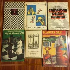 Lot 6 cărți de șah (50 lei pentru tot lotul) - Stare foarte buna!