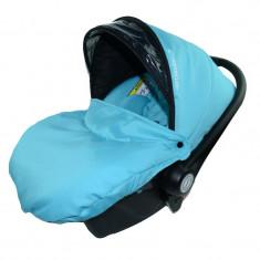 Scoica Auto BabyActive Carlo (0-10 Kg) SCBA7T, Turcoaz