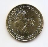 Tokelau 1 Dollar 2017 - Elizabeth II (4th portrait)  23,55 mm, KM-New UNC !!!