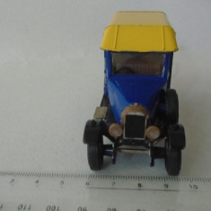 bnk jc Matchbox  MOY Y19 1929 Morris Cowley Van Michelin Tires
