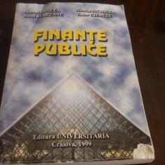 Finante publice- M.Dracea,Nicolae Sichigea, D. Berceanu,Tudor Ciurezu 1999